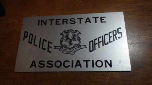 INTERSTATE POLICE OFFICERS ASSOCIATION  SIGN BX XL