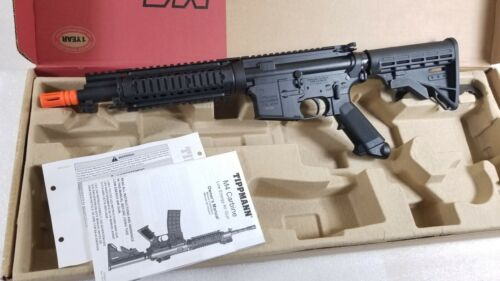 Tippmann M4 CQB w/ ASA Adapter Full Metal Gas Blow Back / Co2 GBB AIRSOFT ONLY