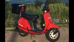 1985 Honda aero 80 scooters