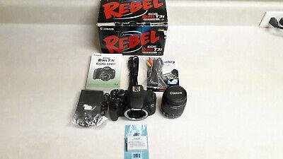 Canon EOS Rebel T3i/600D Digital SLR Camera Kit w/ 18-55mm lens - Pristine Cond.