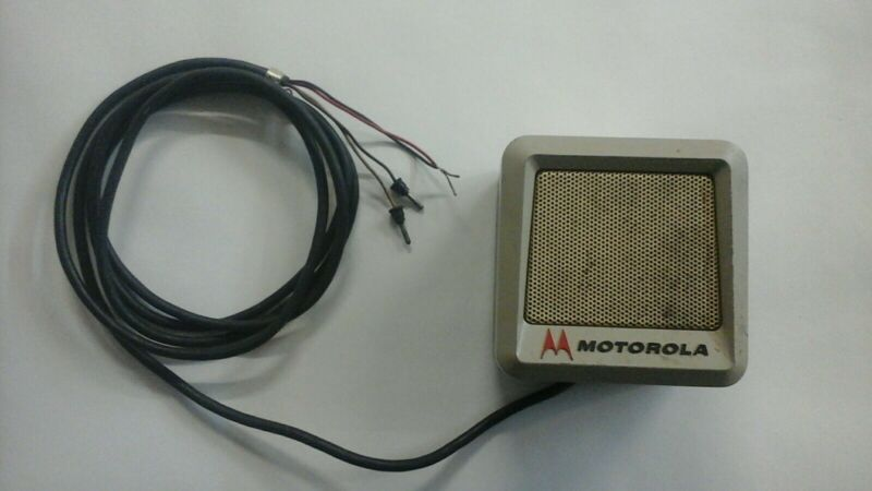 MOTOROLA TU433 6 VOLT POWER VOICE AMPLIFIED SPEAKER  TWIN-V T-POWER MOBILE