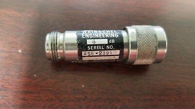 Weinschel As6-2391 6db Attenuator