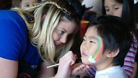 Face Painter available for Chinese New Year!