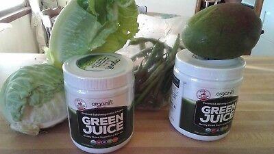 Super Winter Sale  One Organifi GREEN JUICE Super Food Powder 9.5 Oz