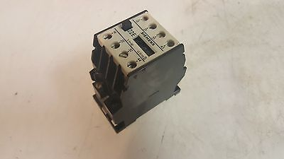 Siemens 22E Contactor, 3TH8022-0A, 220V Coil, Used, Warranty