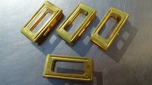 !!  50x orig. ITALIAN CARCANO CLIPPS !! * for 6x 6.5 x52 * made in BRASS - 1950*