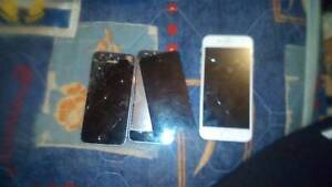 2x iphone 5s and iphone 6 as spare parts