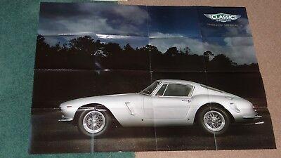Large Poster of FERRARI 250GT SWB BERLINETTA, plus 60 best Ferraris - mint