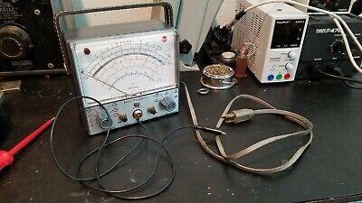 Vintage Senior Voltohmyst Rca Wv-98c. Good Condition. For Parts