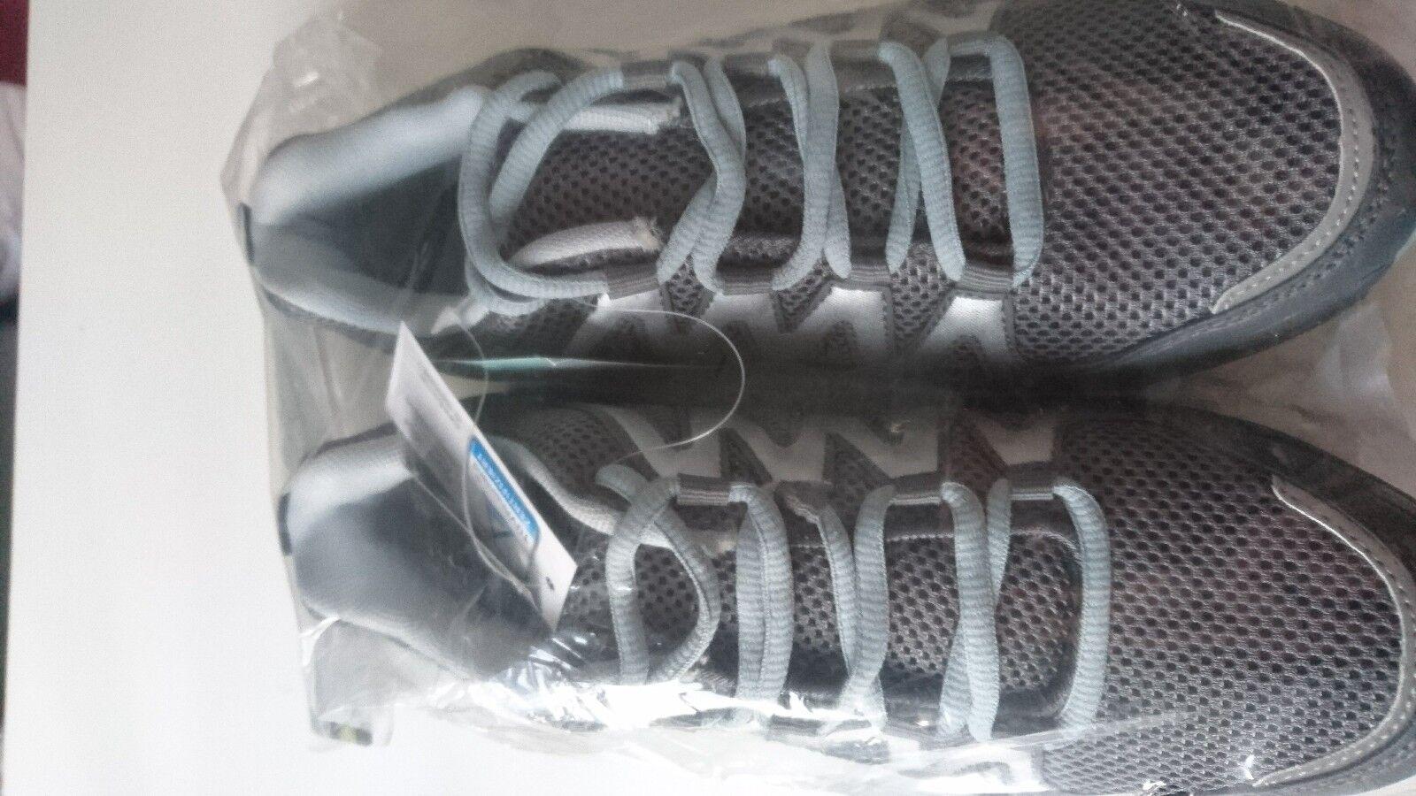 CRANE  Damen Walkingschuhe Sportschuhe Gr. 40 grau silber 3M Reflectoren NEU/OVP