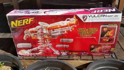 Nerf Vulcan EBF-25 Full-Auto, Belt-Fed Blaster