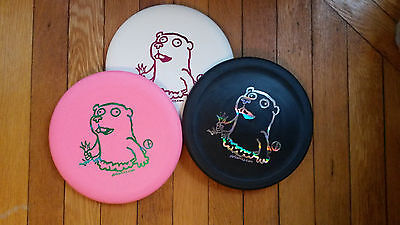 Hot Pink Perry Bible Fellowship Pbf  Crazy  Gopher Flying Disc Golf Putter