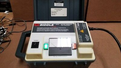 Biddle Bite 246002 Battery Impedance Tester With Accessories