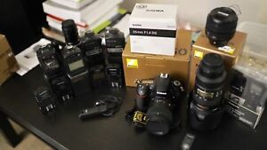 Nikon Gear D750 Primes and Speedlites