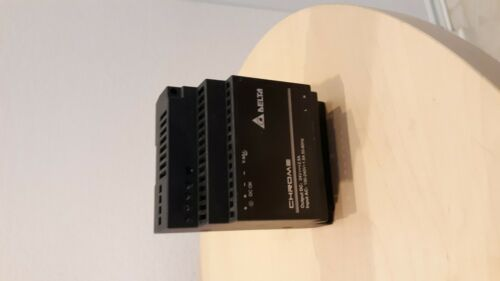 Delta Chrome Power Supply, Model DRC-24V60W1A Din Rail mount  FREE SHIPPING