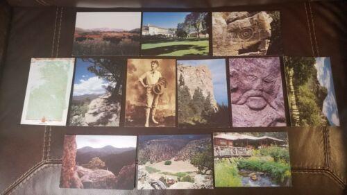 Lot of 12 Philmont Scout Ranch Postcards Cimarron, NM Boy Scouts of America