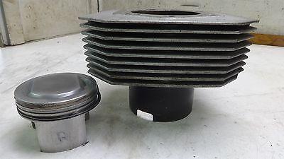 1998 Moto Guzzi V11 1100 SM309B. Engine right side cylinder barrel jug piston