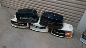 Johnson/ evinrude 55hp 50hp 25hp cowlings