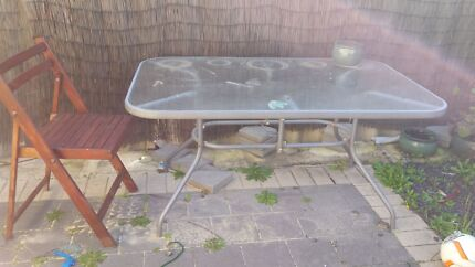 Outside glass table Balga Stirling Area Preview