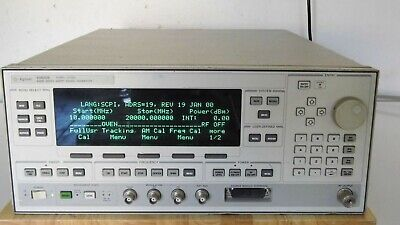 Agilent Hp 83620b 001-002-008 Synthesized Sweeper 10 Mhz To 20 Ghz