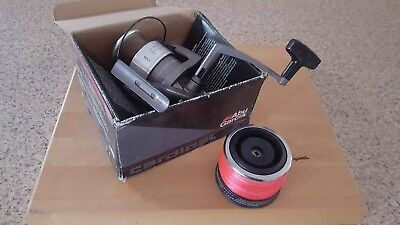 ABU CARDINAL 76 FIXED SPOOL 8000 SIZE  CARP PIKE BEACH CASTING C/W BOX