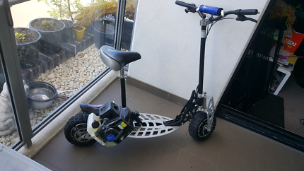 71cc 2 speed 2 stroke scooter