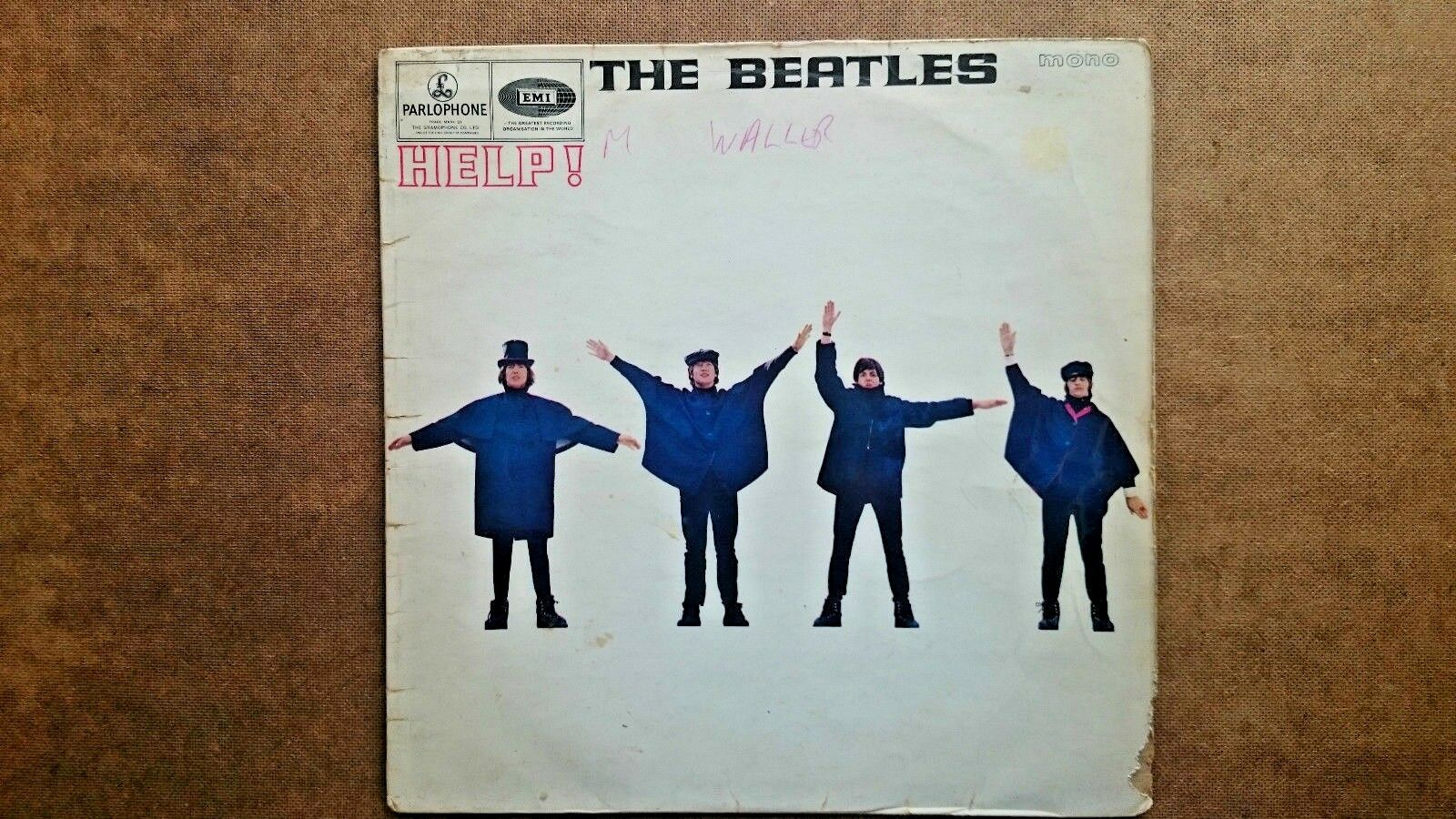 The Beatles Help!  LP 1965 Pressing