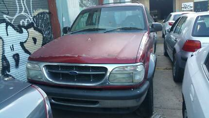 289-1 FORD EXPLORER WAGON RED AUTO NOW WRECKING KMJ