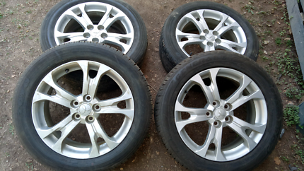 Outlander ZJ rims and tyres 225/55/18