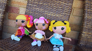 3 LaLaLoopsy Dolls. Farley Maitland Area Preview