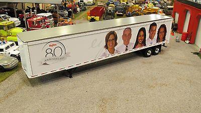 1 64 First Gear Hyvee Stores 80Th Anv Loose Dry Van Semi Trailer Used Nice