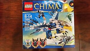 4 Lego Chima sets! Over 1000 pces!