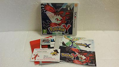 Jeu Vidéo Nintendo 3DS/2DS Pokemon Y Complet VF XL X Nintendo Game Freak RPG +7