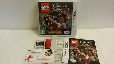Jeu Vidéo Nintendo 3DS/2DS Lego Pirates des Caraïbes Disney Caraibes Depp VF
