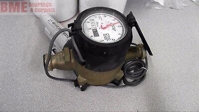 Elster C700 Direct Read Bronze Water Meter W 28370372 Itron Encoder