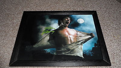 "TEEN WOLF : TYLER POSEY PP SIGNED & FRAMED 12X8"" A4 POSTER AUTOGRAPHED N3"