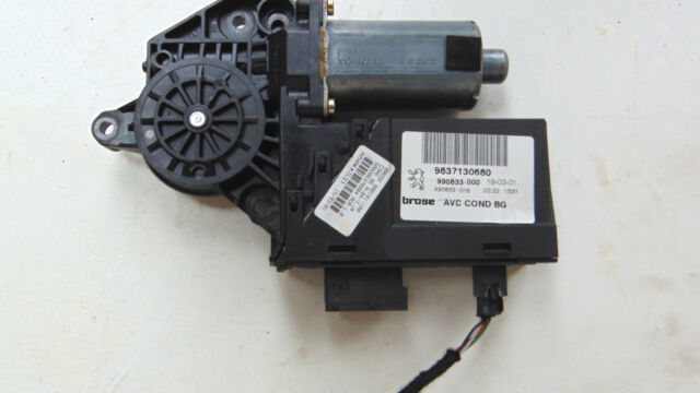 PEUGEOT 307 2001 WINDOW MOTOR DRIVER FRONT O/S/F BOSCH 0 130 821 766