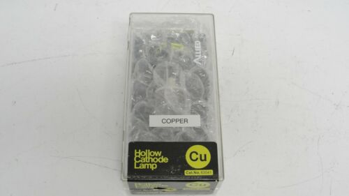 Allied Analytical Systems 63041 hollow cathode lamp copper Cu