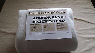 Anchor Band Mattress Pad (❤️Anchor Band Mattress Pad Waterbed / Conventional & Custom all sizes)