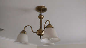 Pendant light fittings x 3 Greenwith Tea Tree Gully Area Preview
