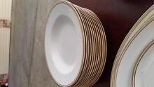 Plates whit and gold Allawah Kogarah Area Preview