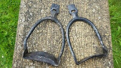 Ancient Viking stirrups U/Rare found at Ulleskelf A must read Description L98d