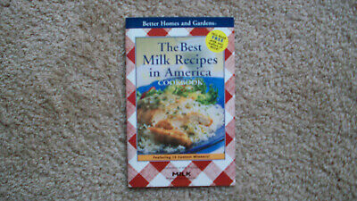 Better Homes & Gardens booklet: The Best Milk Recipes in America, circa