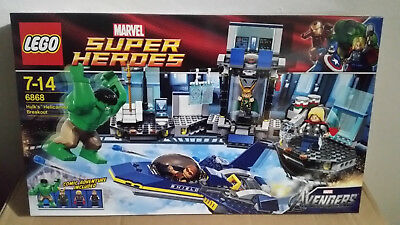 LEGO Super Heroes Hulks Ausbruch mit dem Helicarrier (6868) NEUWARE aus Sammlung online kaufen