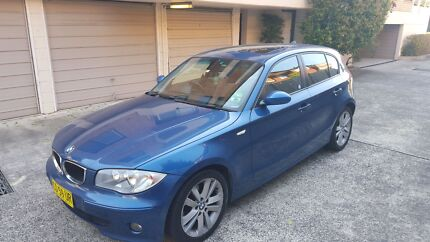 BMW E87 120i Automatic, 2005 Blue $10,500 Negotiable Pittwater Area Preview