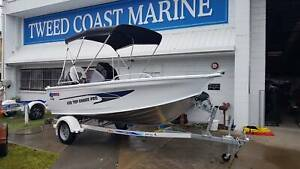 Quintrex 430 Top Ender Pro Delux edition Tweed Heads South Tweed Heads Area Preview