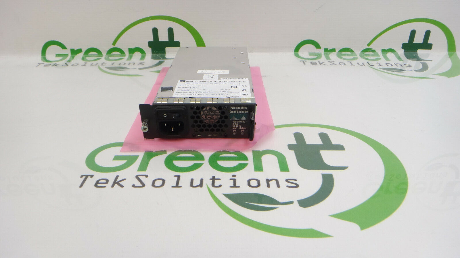 Cisco PWR-C49-300AC AC Power Supply for WS-C4948-S WS-C4948