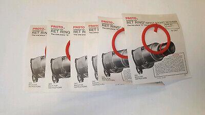 Proto Ret Ring Impact Socket Retainer - J10000-1 - Set Of 6
