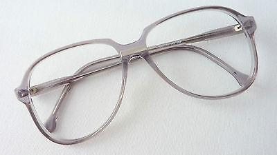 Meitzner Diez Herren Brille Brillengestell Vintage Pilotform grau/klar Gr. M