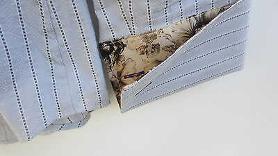 Camicia Paul Smith London Collection Polsino Doppio Eu 42 Stretta uomo slim fit